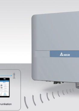 Invertor DELTA cu WiFi pentru sistemele fotovoltaice - energie solara - panouri fotovoltaice - self energy