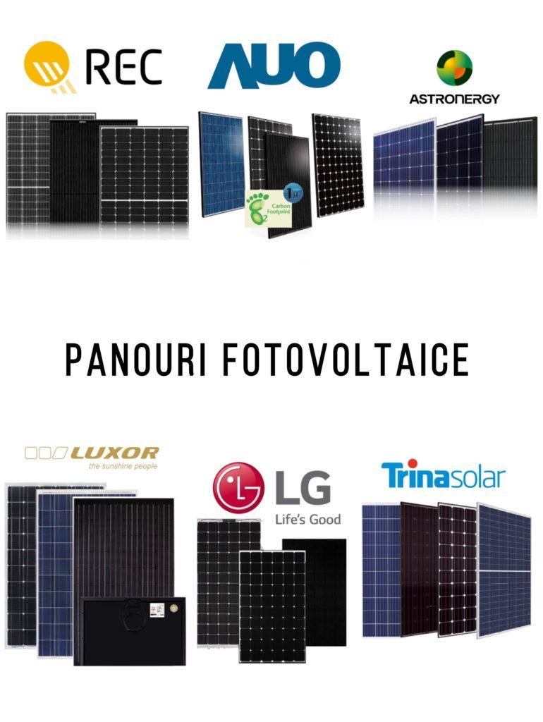 O gamă variată de panouri fotovoltaice de cea mai bună calitate - energie solara - self energy