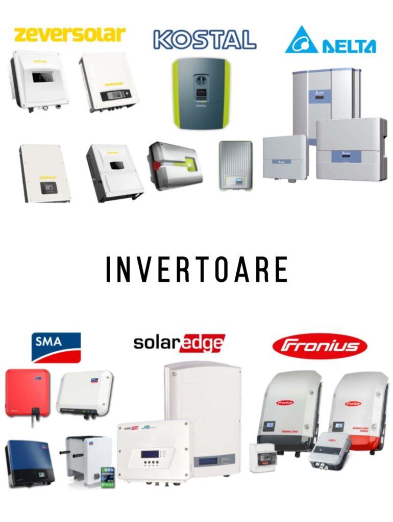 O gamă variată de invertoare de cea mai bună calitate pentru toate tipurile de sisteme fotovoltaice - panouri fotovoltaice - energie solara - self-energy