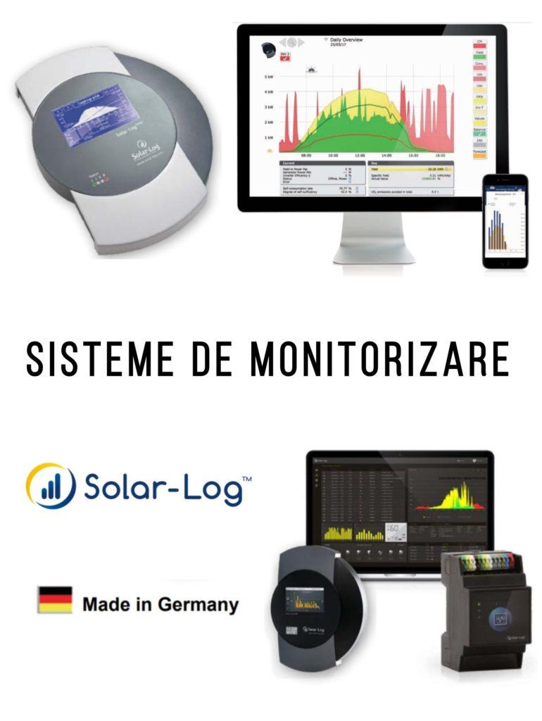 Sisteme de monitorizare a energie solare - panouri fotovoltaice - self-energy