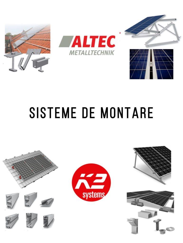 Sisteme de montare a panourilor fotovoltaice pentru orice tip de acoperiș - energie solara - self-energy