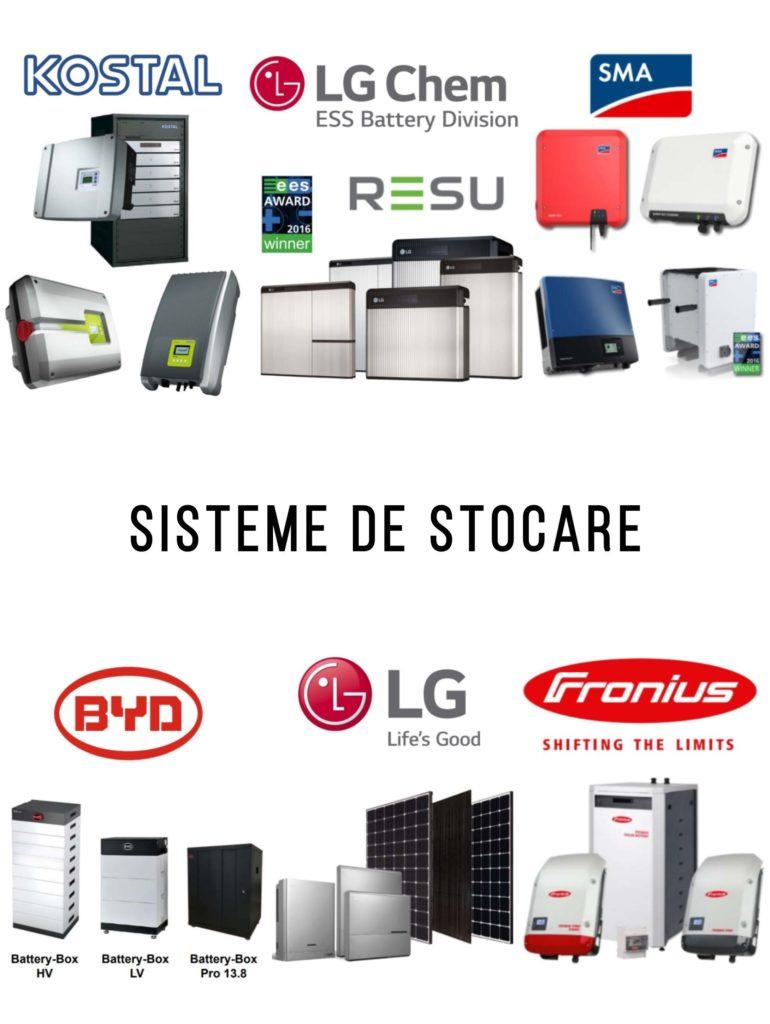 Sisteme de stocare a energiei solare - acumulatori - baterii - panouri fotovoltaice - energie solara - self-energy