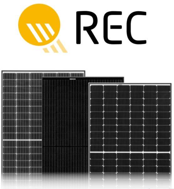 Gama larga de panouri fotovoltaice de cea mai buna calitate de la REC