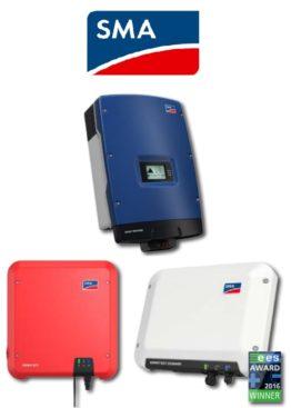 SMA - O gama larga de invertoare pentru panourile fotovoltaice de cea mai buna calitate
