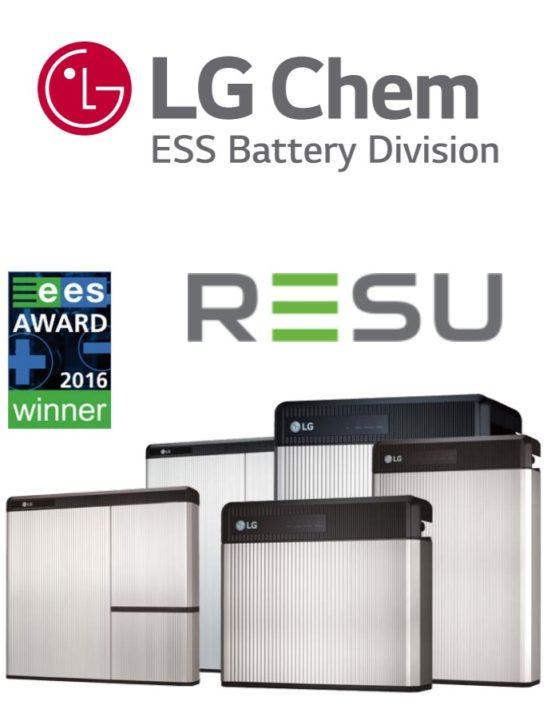 Solutii de stocare a energiei LG Chem - Self Energy