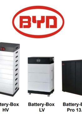 Sisteme de stocare - Baterii BYD - Panouri fotovoltaice - Self Energy