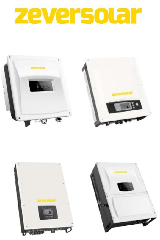 Zeversolar - O gama larga de invertoare pentru panourile fotovoltaice de cea mai buna calitate
